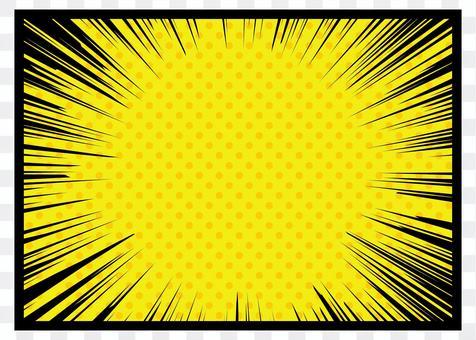 濃度線 - 黃點