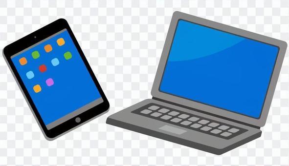 電腦或平板電腦2