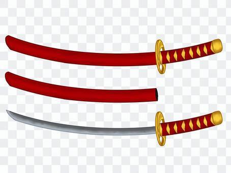 幻想武器3-4武士刀