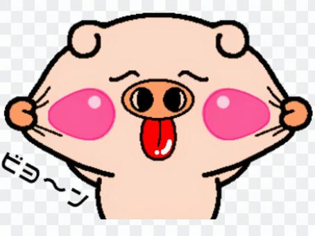 豬的笑臉! ️