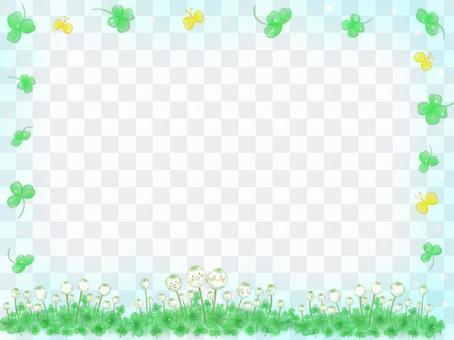 白三葉草框架