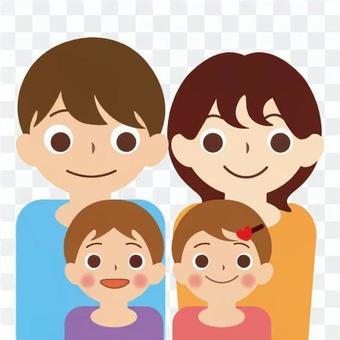 家族(4人家族)