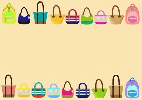 袋框架〜粉红色的类型