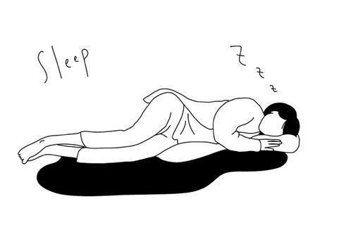 Line art sleeper