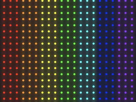 彩虹照明圖案背景:垂直