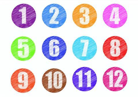 數字塗鴉風格