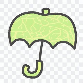 [瓜]簡約可愛的水果傘