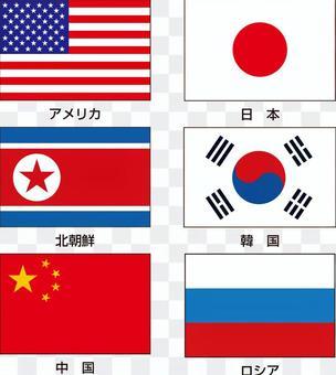 世界的旗幟