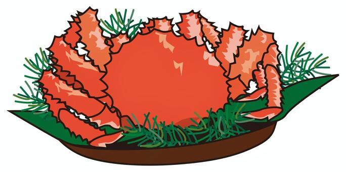 蟹菜(帝王蟹)