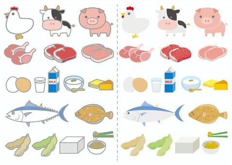 各種蛋白質