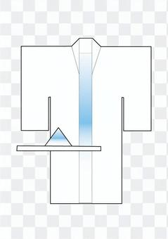 Funeral service pillar costume