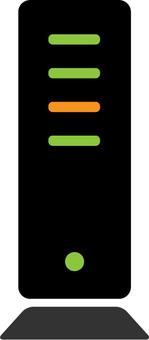 Router (vertical) color