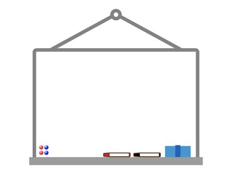 白板樣式框架