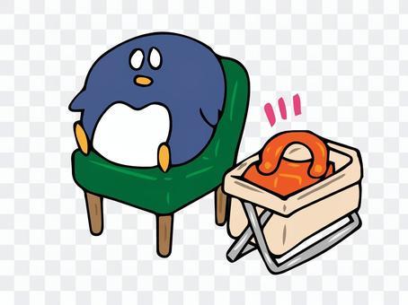 行李廂和企鵝/餐廳