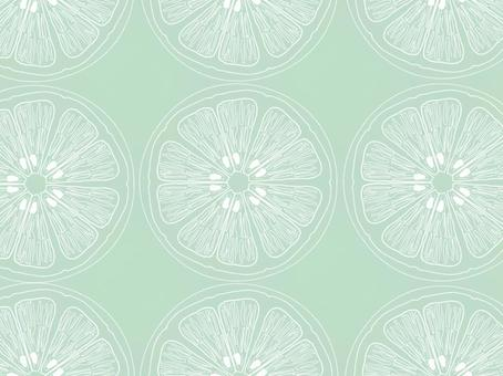 圓形水果背景/牆紙