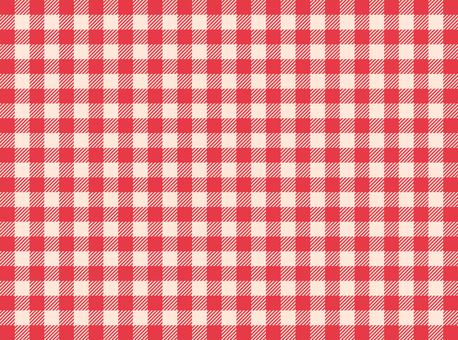 方格布式(紅色)
