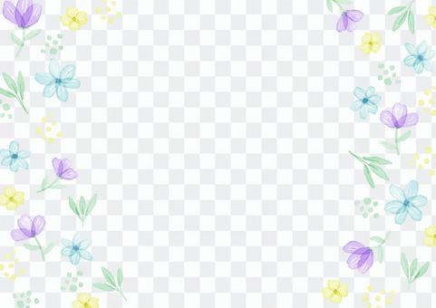 花材102透明花框