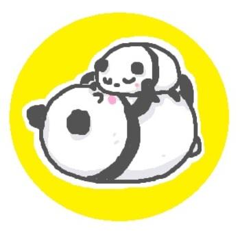 """Panda """"Baby"""" nap time"""