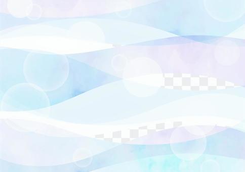 背景素材波型