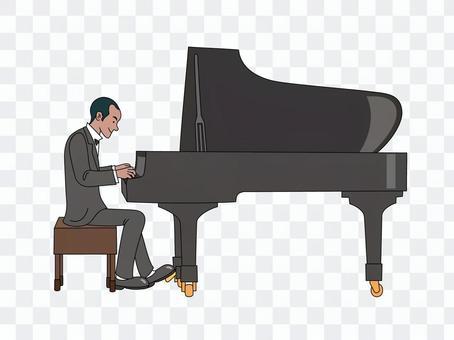 爵士鋼琴家