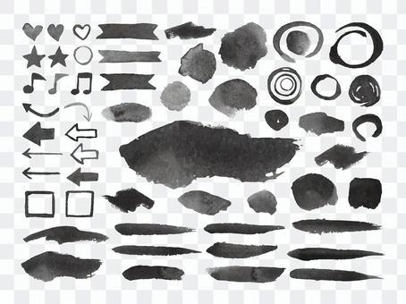 油墨裝飾/質感材料套裝