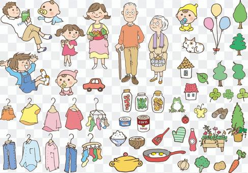 第三代家庭和杂货