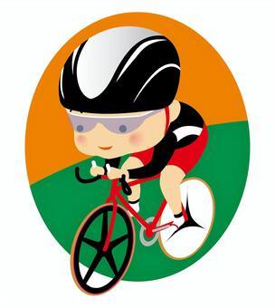 骑自行车比赛