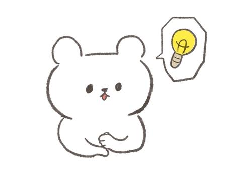 Flashed bear