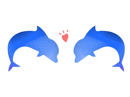 Couple dolphin