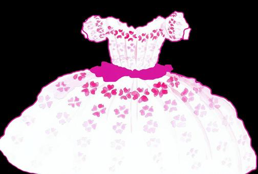 かわいいウエディングドレス