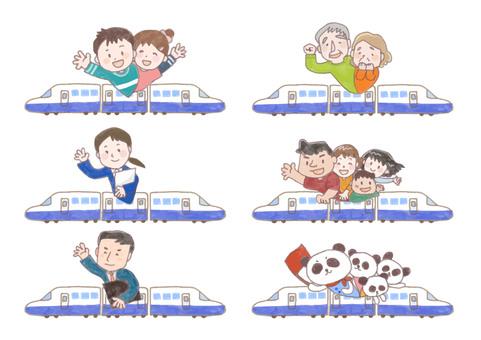新幹線郊遊