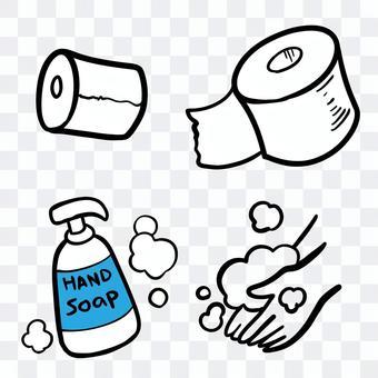 Toilet supplies