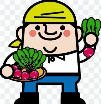 蘿蔔蘿蔔農夫叔叔