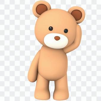 熊填充动漫角色005