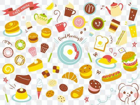 Various cafe menu 02