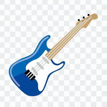 電吉他(藍色)