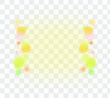 黃色的圓點框架