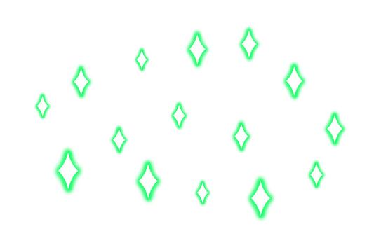 閃光效果(綠色)