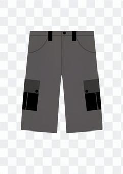 Shorts pants (gray)