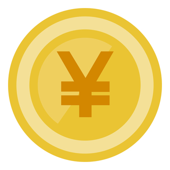 簡單的日元硬幣