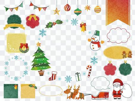 聖誕框架集