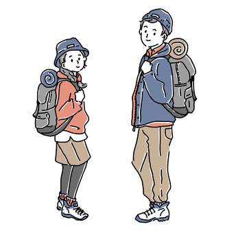 Outdoor couple attire