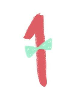 1 ribbon