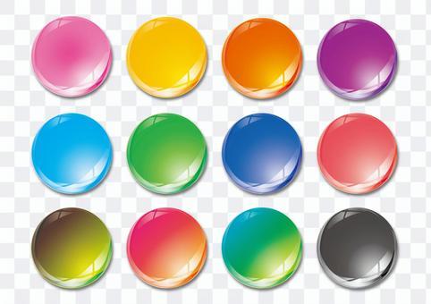 ボタン02 イラスト素材
