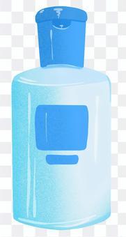 藍色包裝乳液