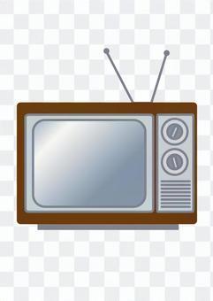 復古電視(棕色)