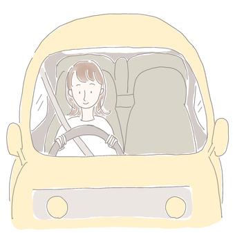 開車的女人