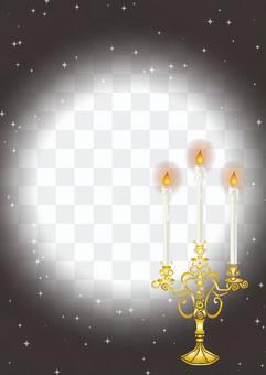 Candlestick card