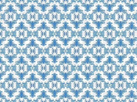 仿古風格圖案④藏青色/藍色