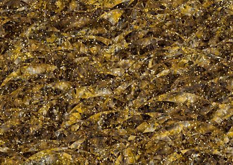 金屬,黑暗和金色牆紙背景